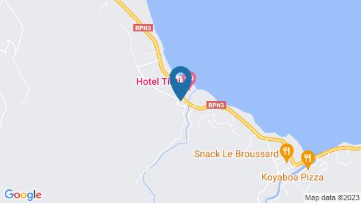 Hôtel de la plage - Poindimié Map