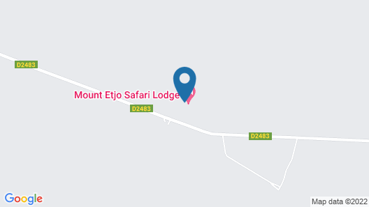 Mount Etjo Safari Lodge Map