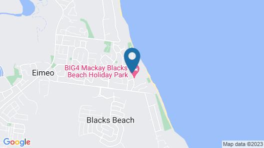 Comfort Resort Blue Pacific Map