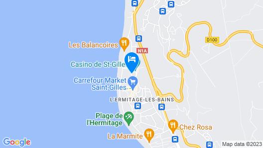 Alamanda Hotel Map