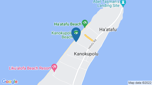 Vakaloa Beach Resort Map