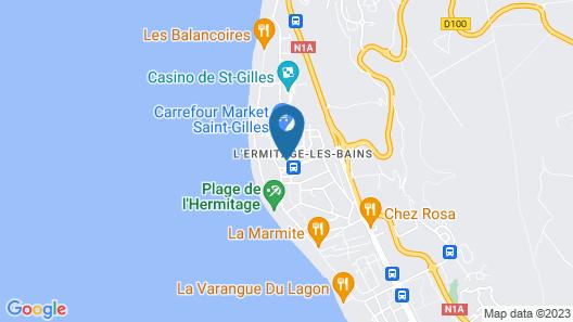 Ermitage Boutik Hôtel Map