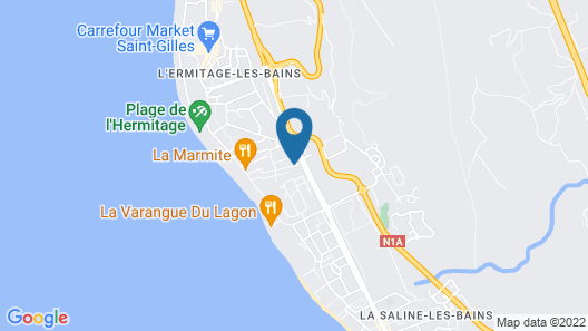 Hotel les Bougainvilliers  Map
