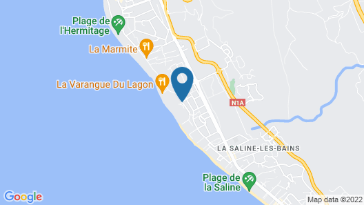 LUX* Saint Gilles Resort Map