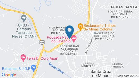 Paço do Lavradio Pousada Map