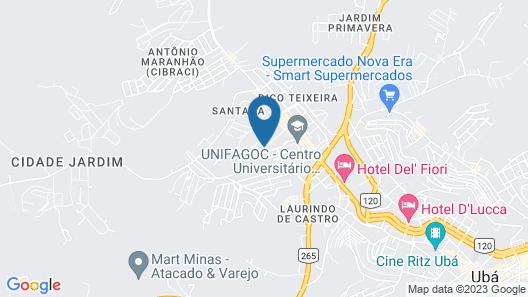 Hotel Pousada do Sol Map