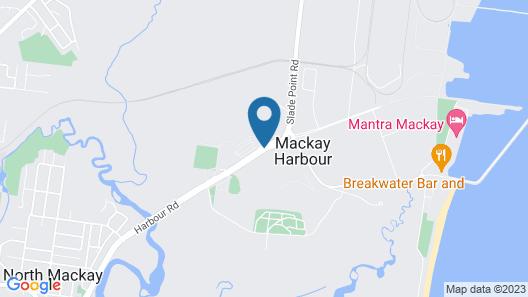 BIG4 Mackay Marine Tourist Park Map