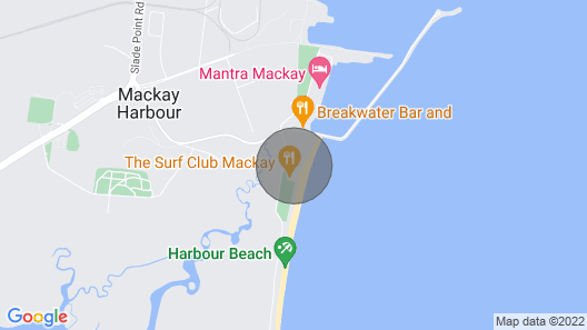THE Ultimate Beach Front Accommodation Map