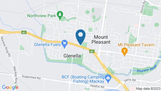Motel Northview Mackay Map