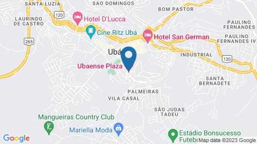 Ubaense Plaza Hotel Map