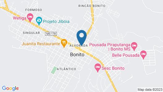 CLH Suites Bonito Centro Map