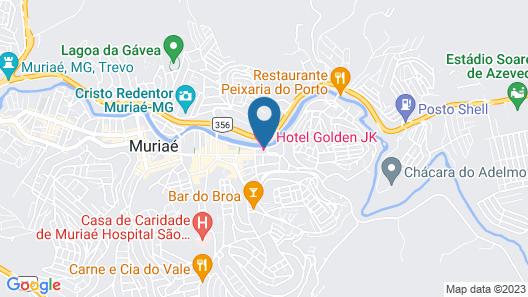 Hotel Golden JK Map
