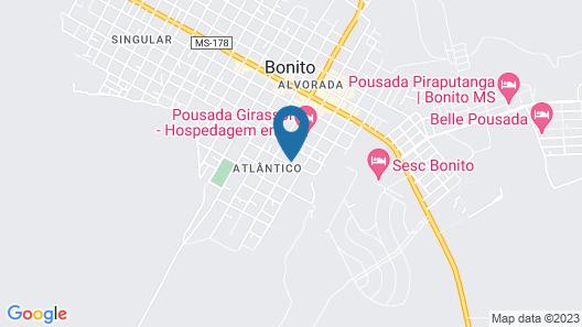 Pousada Villas Bonito Map