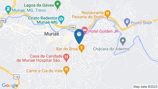 OYO Hotel Muriaé Map