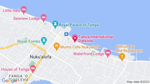 Tanoa International Dateline Hotel Map