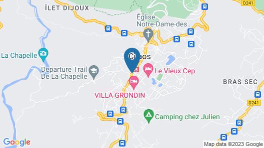 Le Tsilaosa Hotel & Spa Map
