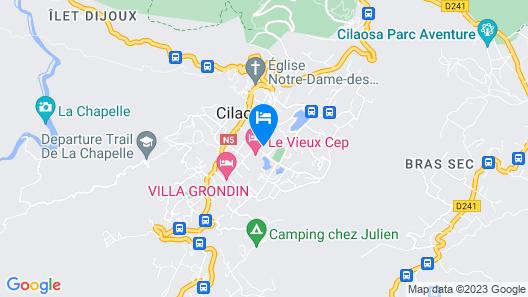 Gite Les Chrysalides Map