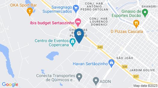 Hotel Pousada Chalé Das Flores Map