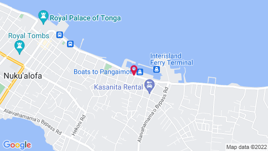 Waterfront Lodge Map