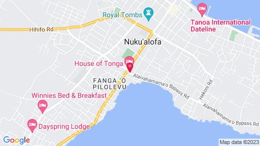 House of Tonga Map