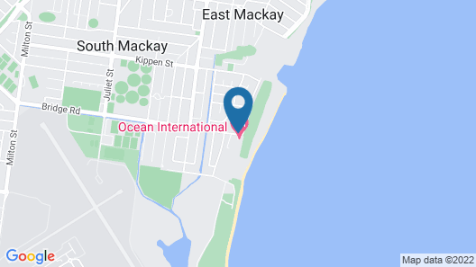 Econo Lodge Beachside Map