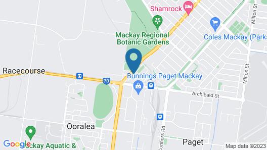 Boomerang Motor Hotel Map