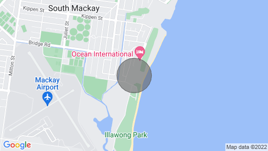 The Beach Holiday Home Map