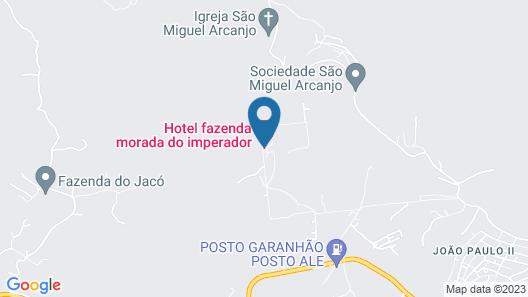 Hotel Fazenda Morada do Imperador Map