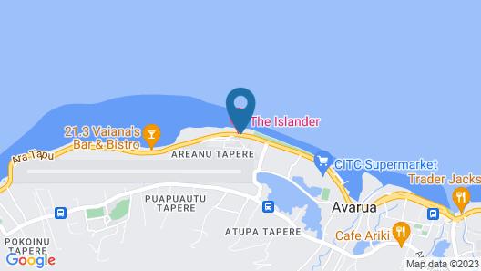 The Islander Hotel Map