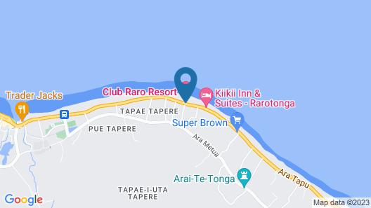 Club Raro Resort Map