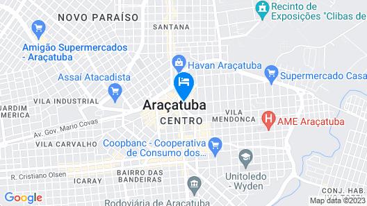 Grande Hotel Araçatuba Map