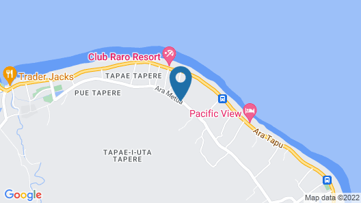 Rarotonga's Fishing Lodge - GT's Map