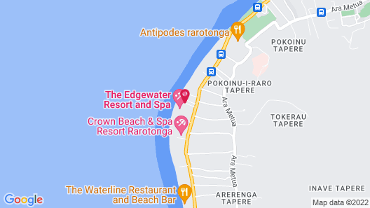 The Edgewater Resort and Spa Map