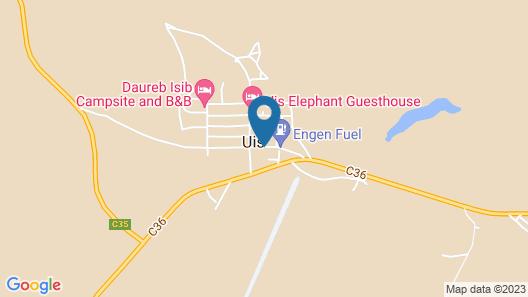 Brandberg Rest Camp Map