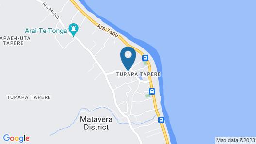 Ikurangi Eco Retreat Map