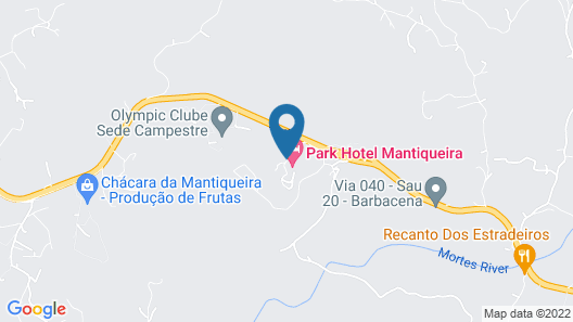 Park Hotel Mantiqueira Map