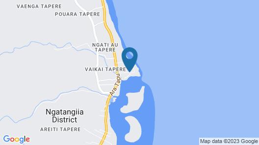Avana Waterfront Apartments Map
