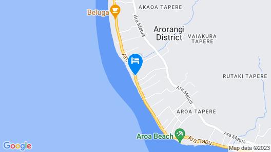 Muriavai Bungalows Map