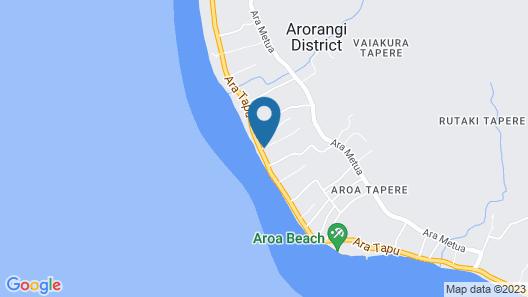 The Black Pearl at Puaikura Map