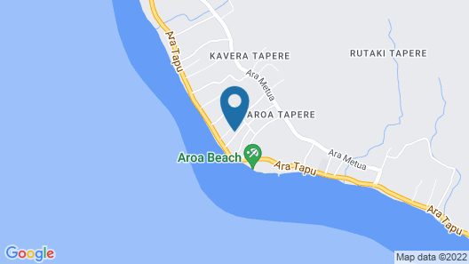 Aroa Kainga Bungalows Map