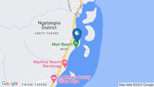 Muri Beach Club Map