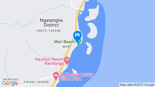 Pacific Resort Rarotonga Map
