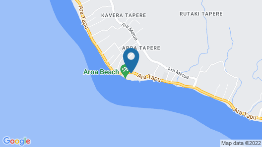 The Rarotongan Beach Resort & Lagoonarium Map