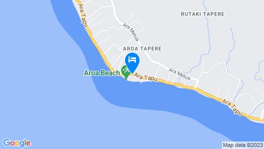 The Rarotongan Beach Resort & Lagoonarium Map