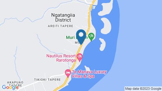 Muri Beachcomber Map