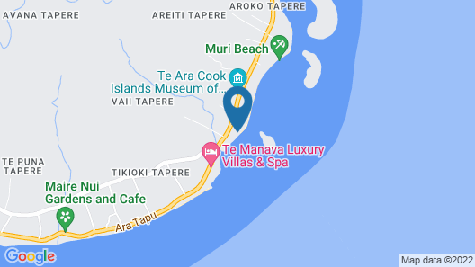 Tianas Beach Map