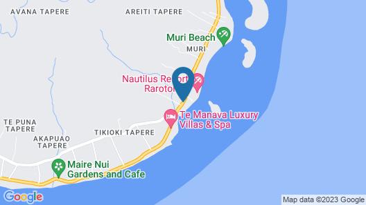 Rumours Luxury Villas & Spa Map