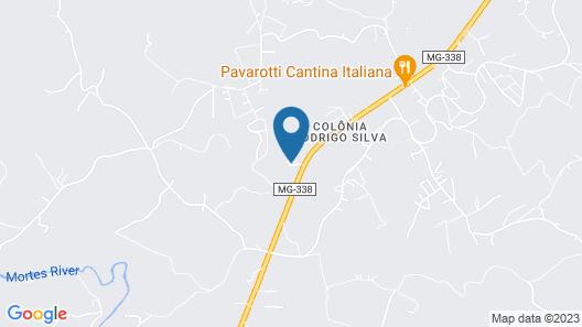 OYO Hotel Pouso das Minas Gerais Map