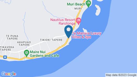 Te Manava Luxury Villas & Spa Map