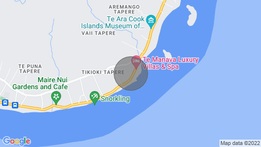 Island Time Villas - Villa Kakaia Map